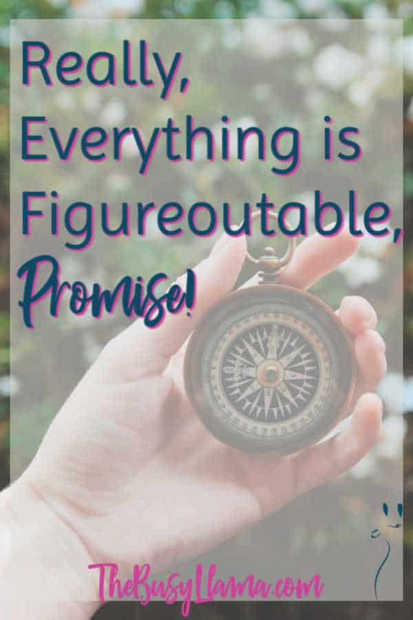 I will not lie, I struggled my way through reading it but midway through I figured out why Everything is Figureoutable was not resonating with me. Curious? perfectionism, done is better than perfect, progress not perfection, business tool, mindset, stumbling blocks #dowhatyoulove #marieforleo #empowerment
