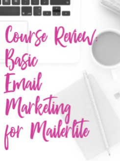 Does the idea of setting up some email marketing sequences have you feeling some negative emotions? Don't worry, Basic Email Marketing for Mailerlite will help! mailer lite, flodesk, mailchimp, mail chimp, convertkit #mailerlite #dowhatyoulove