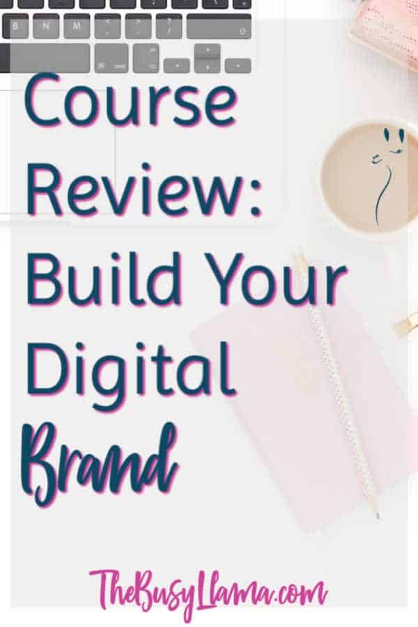 Y'all! Brand yourself and ditch the stock and generic! Refine and define your brand. Ready to learn how to build your digital brand with this course review. personal branding, business branding, social media #dowhatyoulove