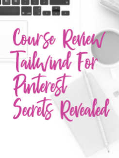 Tailwind for Pinterest is a time-saver and a game-changer for a small business owner but man, does it take some getting used to so see if this course is a fit! tailwind for business, pinterest schedule, pinterest scheduler #dowhatyoulove
