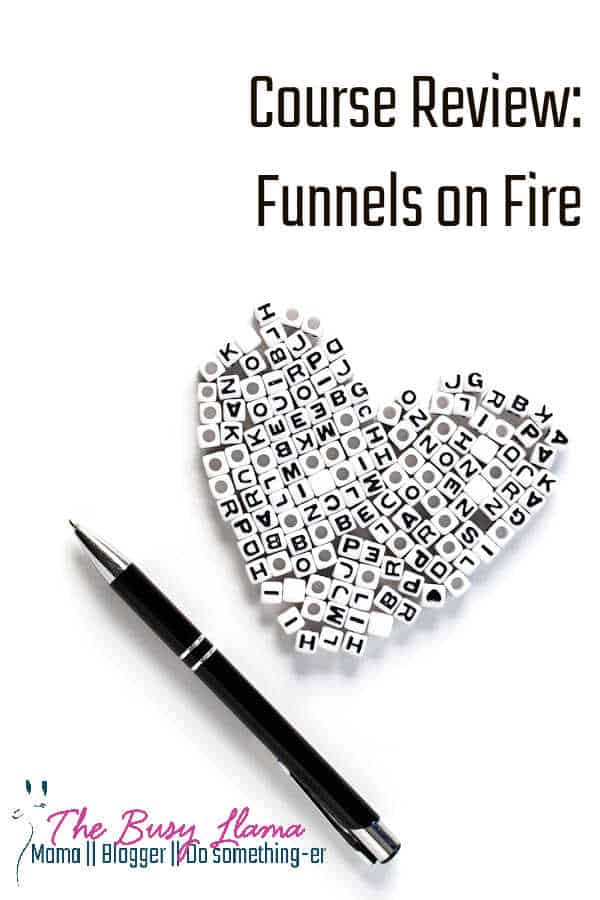 Funnels on Fire is the latest course offering from Joni Kinney, Inspire@KinneyChaos. Will you feel on fire and ready to dominate your business after taking it? Find out! mailerlite, constant contact, aweber, Mailchimp, email marketing, marketing funnels, marketing, entrepreneurship