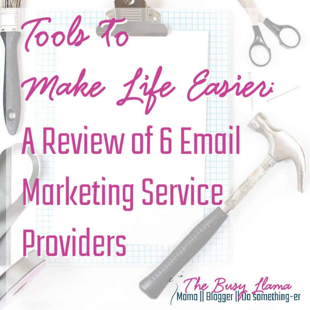 Every small business owner needs to use email. Period. Exclamation mark! But which one? Here is a round-up of email marketing service providers to get you started. AWeber, Mailerlite, Mailchimp, Constant Contact, Flodesk, ConvertKit