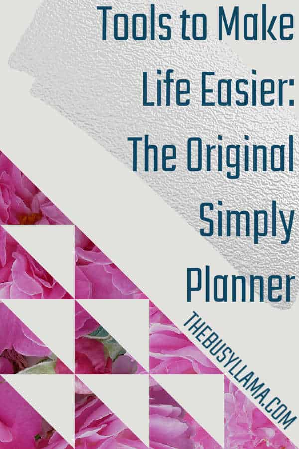 Finding the right planner is always a challenge, we all have those that have failed. How about one that might succeed? See if The Original Simply Planner is the right one!