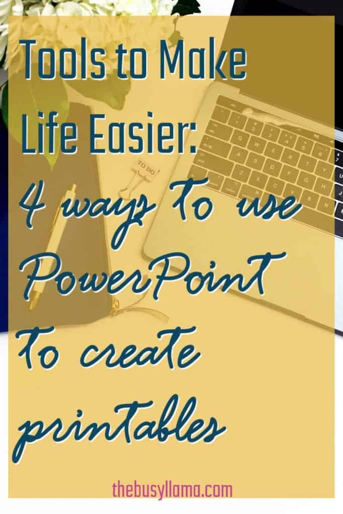 Shhh... want to know a secret? Using PowerPoint to create printables is SO easy! Here are four ideas to help you brainstorm getting started!