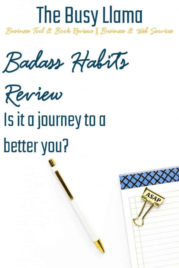 As one of my book club friends mentioned, habit books are all the rage right now. Check out my Badass Habits review to see if this habit book fits your journey.