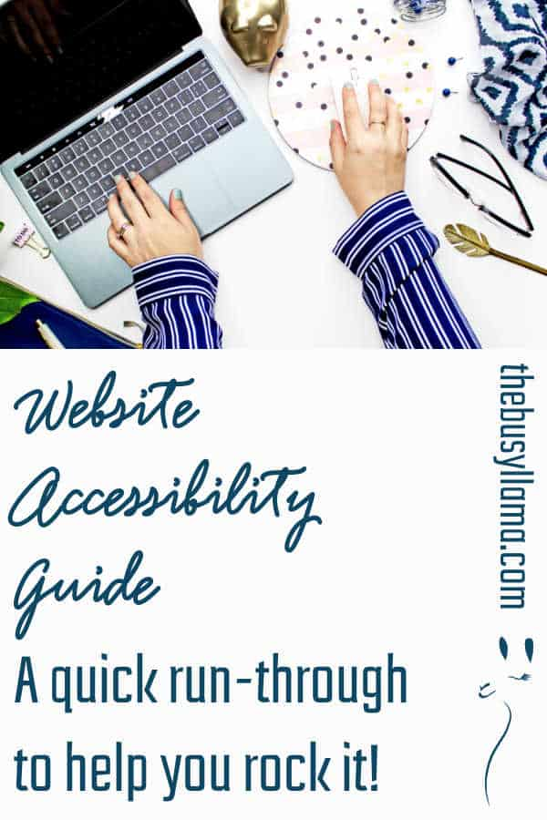 A quick website accessibility guide to help you get the basics mastered so that your content can shine for any audience. Inclusiveness is kindness!