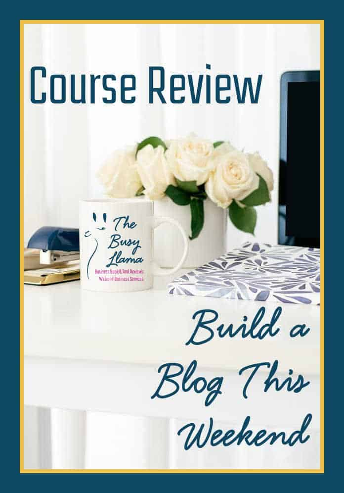 If you have a business you need a website. In all the overwhelming world of how to build a website or blog, which resource should you pick? See if Build a Blog This Weekend is a good fit for your business.