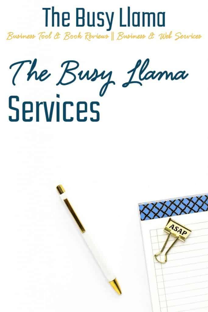 The Busy Llama web services make having a website for your business easy and simple. Contact me today to get started!